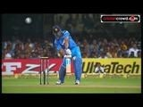 Dhoni helicopters six out of ground, Rohit rains sixers (Bangalore)