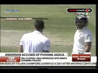 Anderson charged with pushing Jadeja (Southampton)